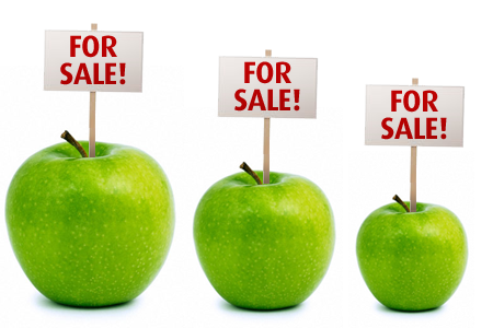 Apple for sale image