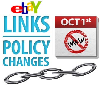 eBay Links Policy Changes