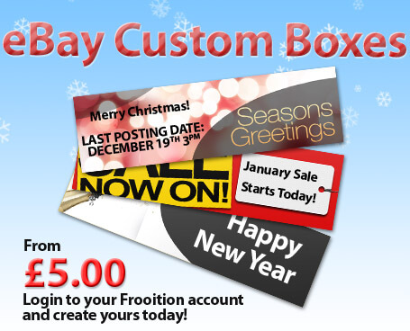 eBay Custom Seasonal Boxes