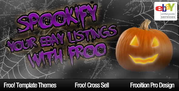 Spookify Your eBay with Frooition!
