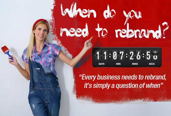 When do you need to rebrand?