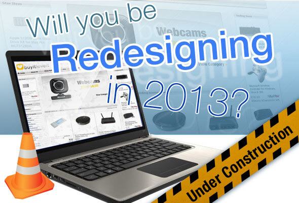 Will you be redesigning?