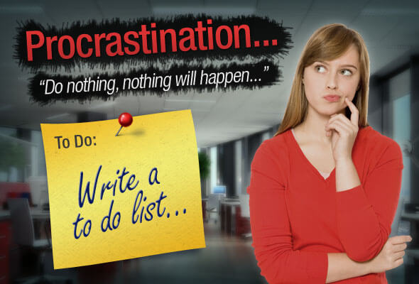 Procrastination – To do or not to do? That is the question…