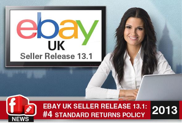 eBay.co.uk Seller Release 13.1:: New Standard Returns Policy