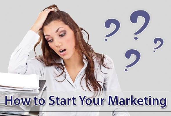 How to start your marketing