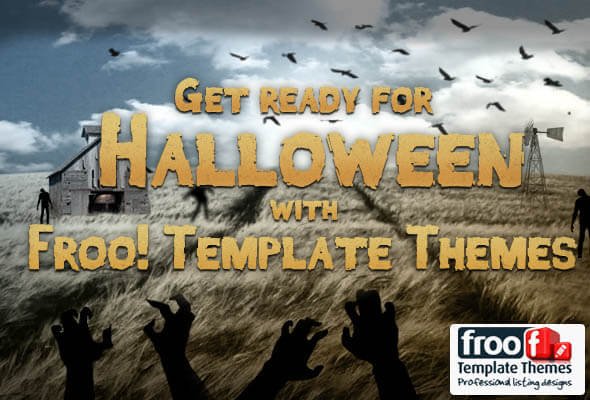 Get Ready for Halloween with Froo! Template Themes