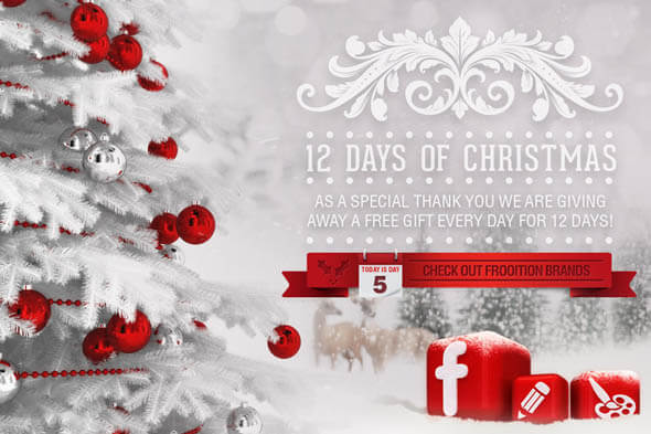 Frooition 12 Days of Christmas – Day 5