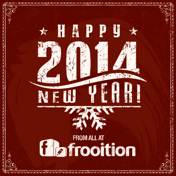Happy New Year from all at Frooition