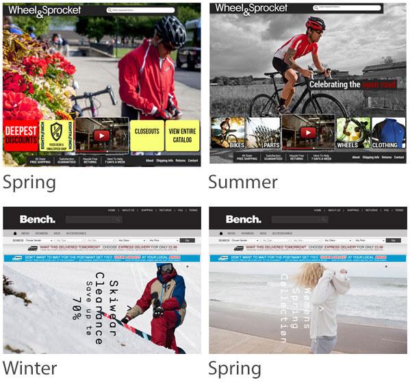 seasonal online store