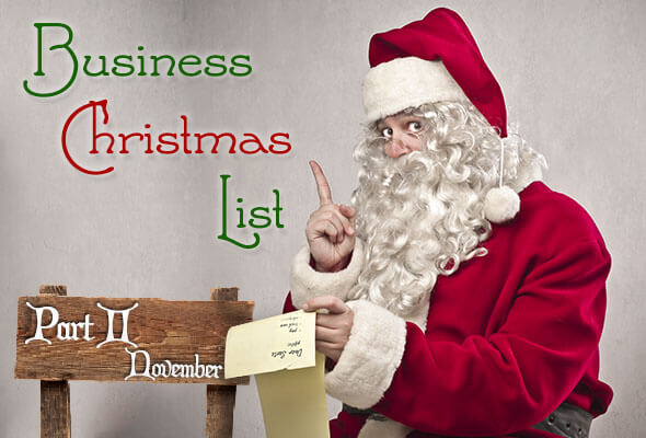 2014 Business Christmas List: Part 2