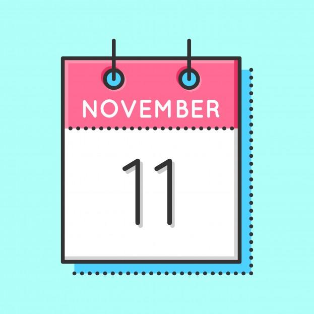Singles day. November 11th