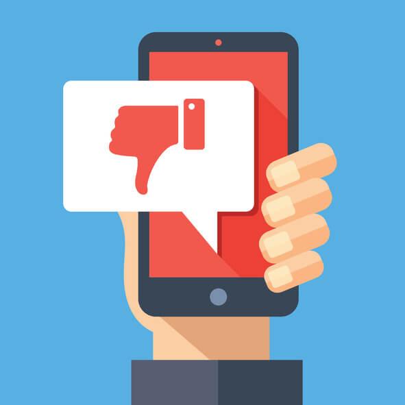 Handling complaints via social media