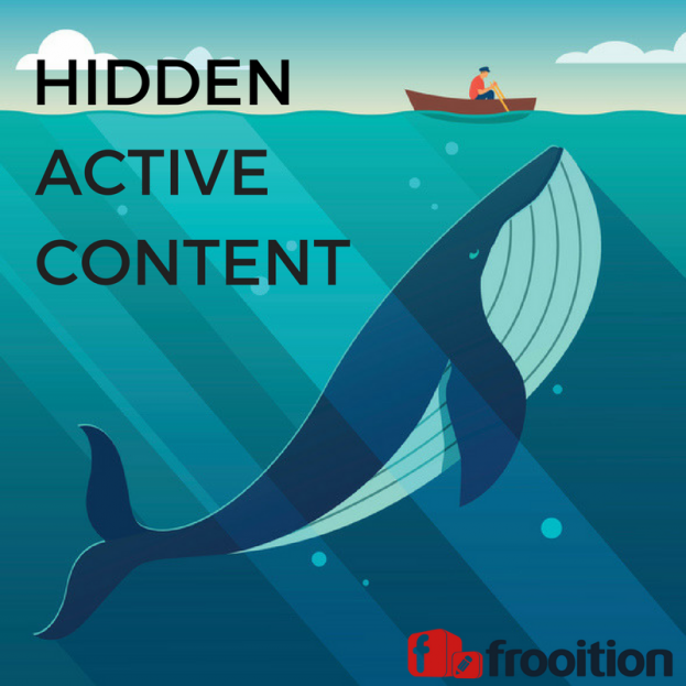 hidden active content