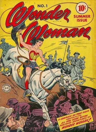 Wonder Woman issue 1