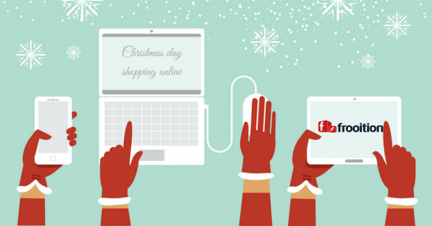 Christmas day shopping online