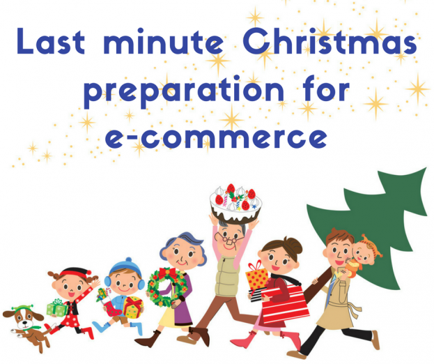 last minute e-commerce christmas preperation