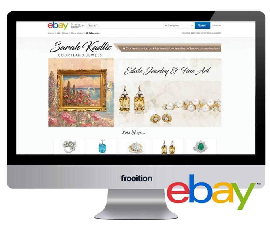 Sarah Kadlic eBay design in screen