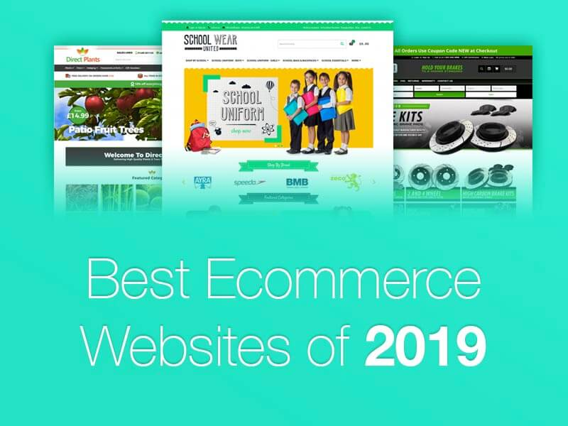 4 of the Best Ecommerce Website design builds [2019]